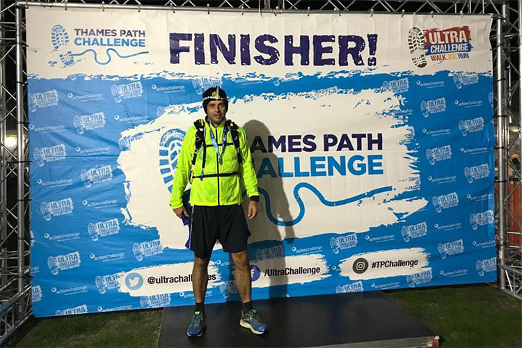 100KM Thames Path Challenge for Farleigh Hospice