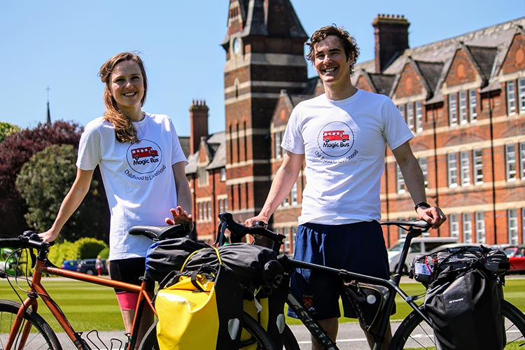 Felsted Teacher Embarks on Sponsored Cycle To India