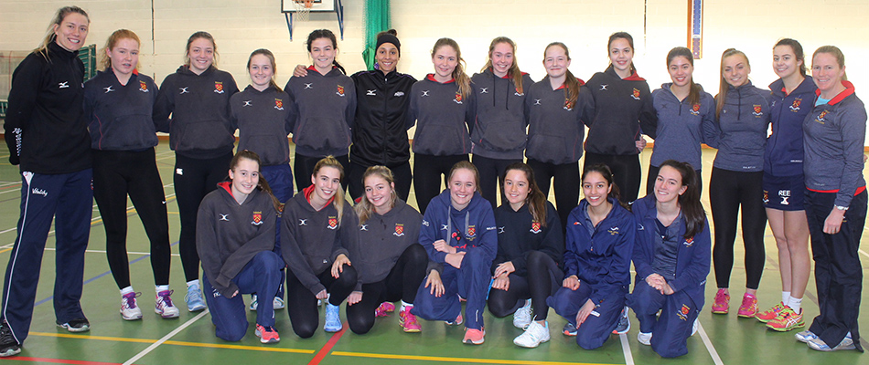 Mavericks Coach Inspires Felsted Netballers