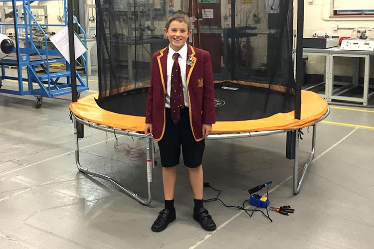 Felsted Pupil's Invention Made a Reality at Kingston