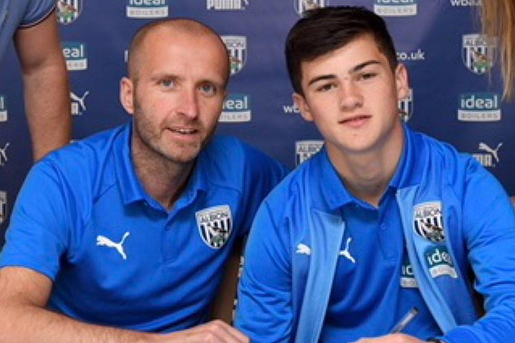 Toby King Signs a Two Year Academy Contract With West Bromwich Albion