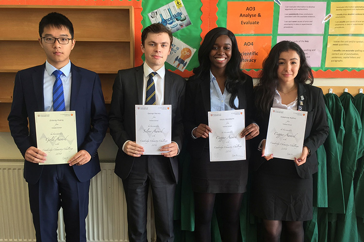 Cambridge Chemistry Challenge competition