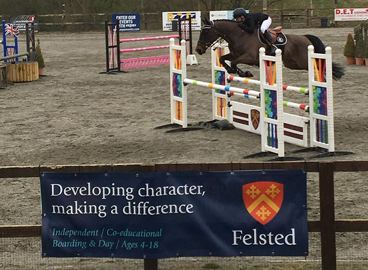 Young Riding Talent Compete at Felsted Horse Show