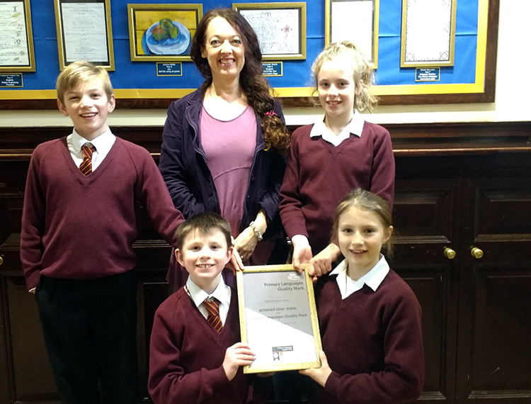 Felsted Awarded Silver Primary Languages Quality Mark